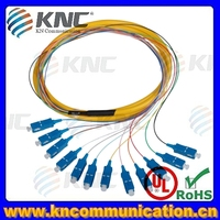 LC SC fiber optic multi strand fiber optic cable indoor outdoor
