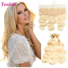 raw indian blonde pre plucked human hair transparent lace frontal piece 360 lace frontal