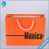 Fashionable Luxury Paper Gift Packaging Scarf Bag