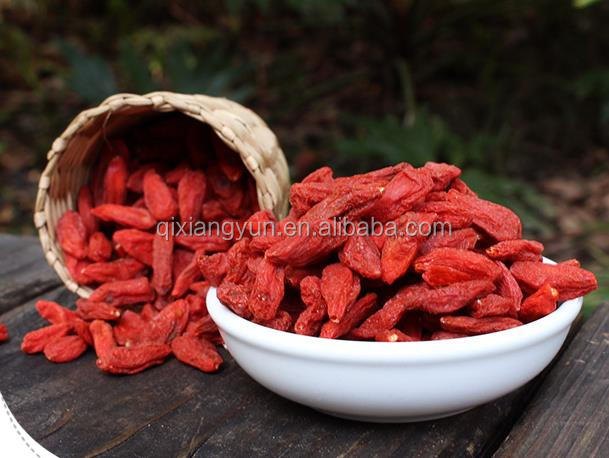 100%Natural fresh goji berry/wolfberry Ningxia china make juice