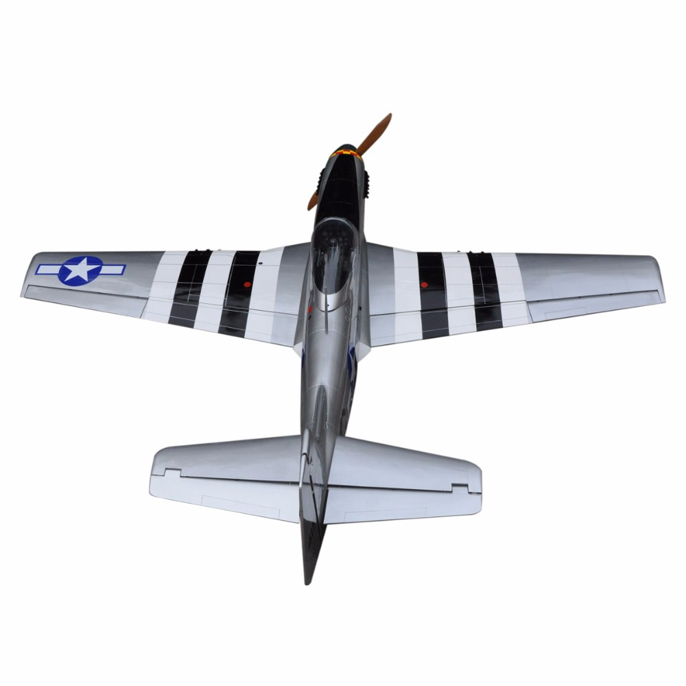 "2017 P-51 Mustang 96"" V2 100cc rc china model productions rc airplanes"