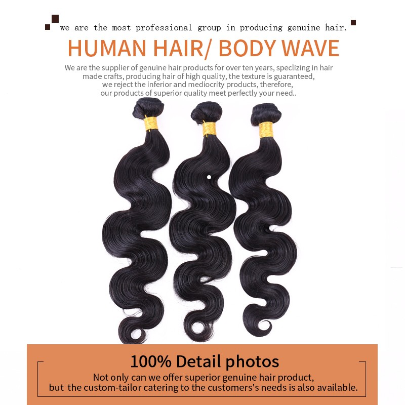 wave virgin hair weave 100% human indian hair