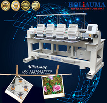 HOLIAUMA brother type 4 Head Computer Embroidery Machine For Sale Free Embroidery Design Machine