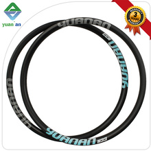Popular new arrival UD matte 100% carbon fiber mountain bike wheel rim,full carbon fiber mountain bike rims 700c
