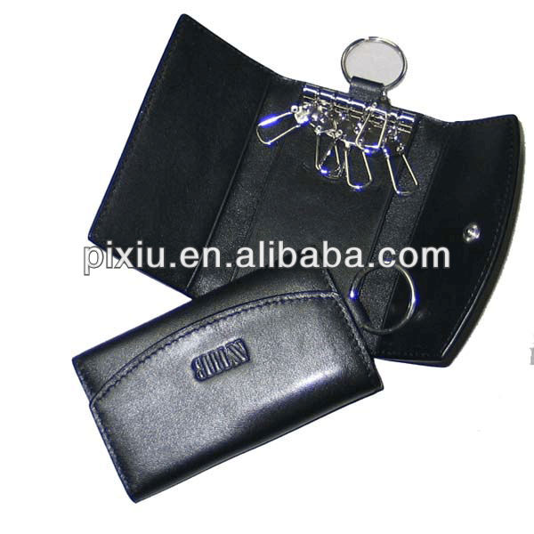 Guangzhou wholesale fashion leather promotional key bag