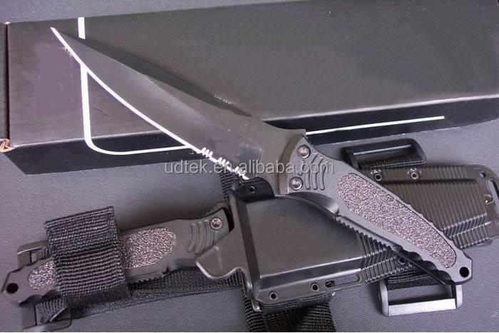 OEM stainless steel combat knife hunting knife UDTEK00533