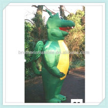 Advertising inflatable dragon costume for adults