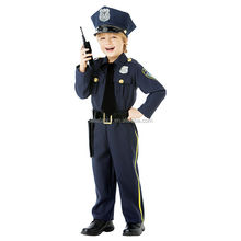 Best seller child police costume child cowgirl costume angel child costume QBC-5312