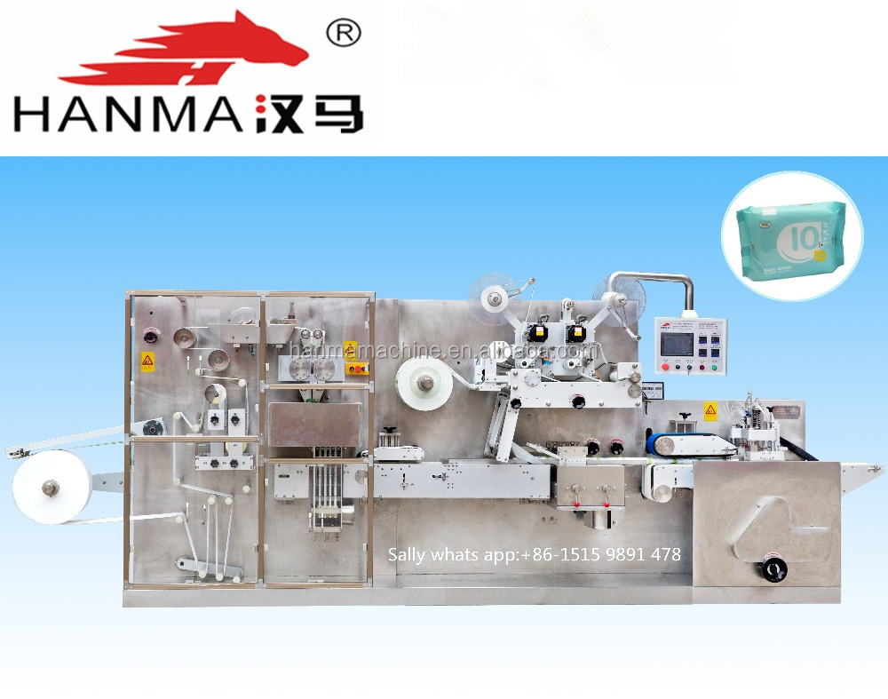 Full automatic baby wet tissue manufacturing machine