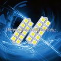 Auto DC 12V LED 5050 10SMD Festoon Interior Light Auto Part Vanity LED Lamp PA