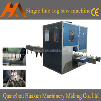 Automatic kitchen towel roll log saw cutting toilet tissue paper machine