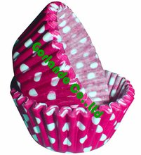 Polka dots greaseproof paper cupcake cup decorations