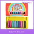 Rainbow Art Set,Art Set Painting for Kids