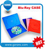 Factory wholesale dvd case 5mm cd box holder black blue ray case