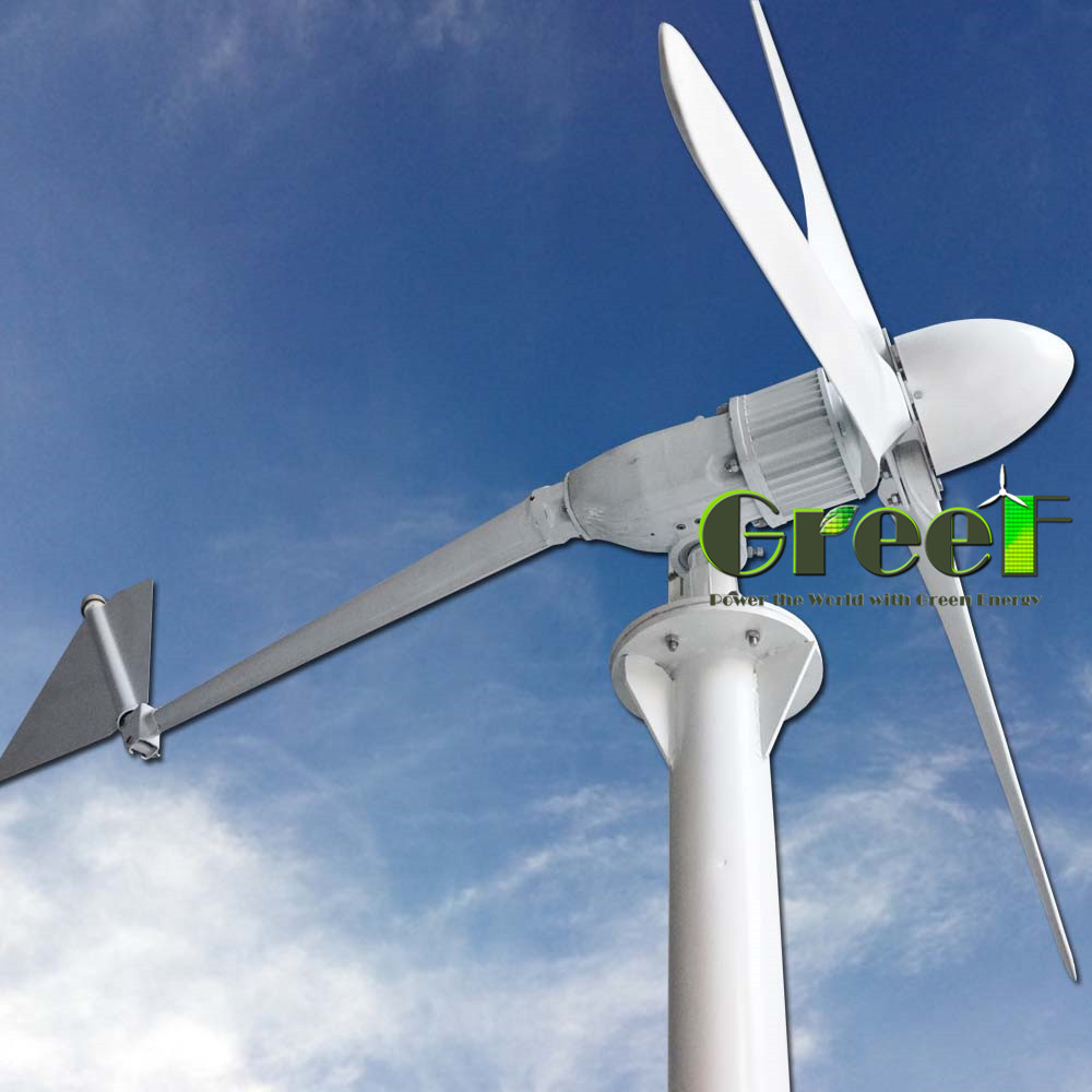 China wind turbine manufactures 3kw wind generation ,aerogenerator for home