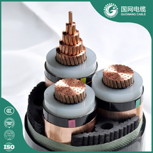 IEC 60502 Xlpe Insulated Power Cable Underground Armoured Cable Three Phase Cable 70mm 2 Bare Copper Conductor