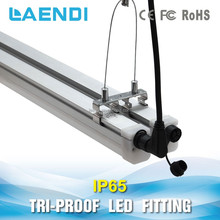 Wholesale Dustproof/Corrosionproof TUV 4ft Led Triproof Slim Batten Outdoor Waterproof T8 Led Tube Light