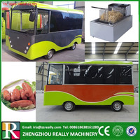 Electric type mobile kitchen food van/fruits vending cart/coffee kiosk design