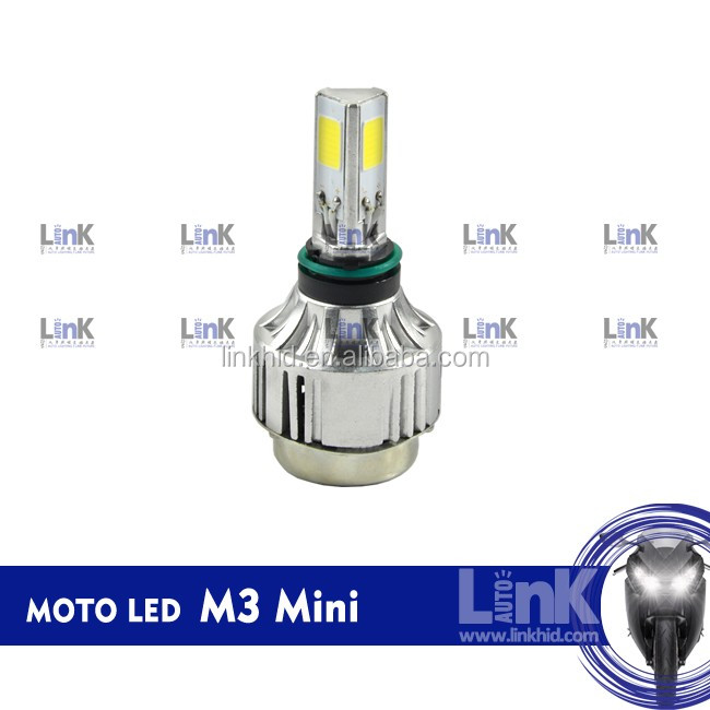 M3 universal Motorcycle LED light for PH7 BA20D H4 moto led headlight
