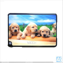 3D Back Cute Dog Style Hard Plastic cover case For iPad Mini P-iPDMINIHC002