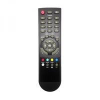 Factory OEM LCD precision tv remote control with stylish design, 44 keys TV remote control