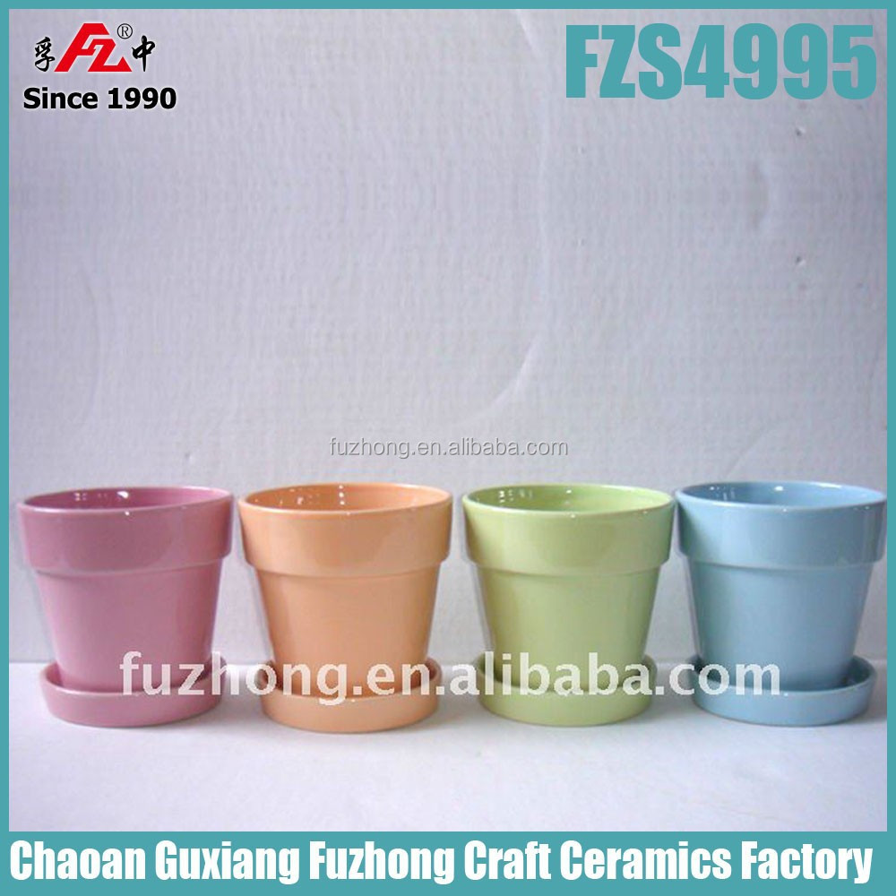 Cheap Colorful Small Ceramic Planter With Saucer For Balcony - Buy Planter,Ceramic  Planter,Small Ceramic Planter Product on Alibaba.com - Cheap Colorful Small Ceramic Planter With Saucer For Balcony - Buy