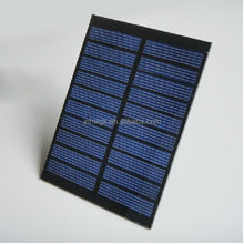 Polycrystalline silicon solar panels, 5 v, 220 ma phone rechargeable LED lights 6 v photovoltaic controller