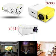 Newest YG-300 LCD Mini Portable LED Projector Support 1080P 400 - 600 Lumens 320 x 240