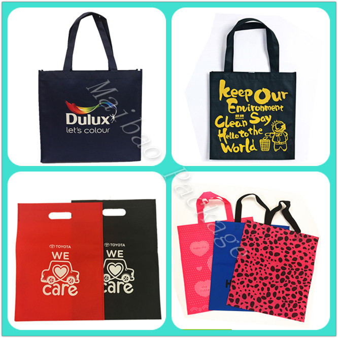 Factory Premium Quality Custom Made Eco Friendly Promotion Laminated Nonwoven Shopping Bag