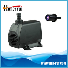 With mini LED germicidal lamp aquarium submersible pump