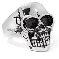 316L Skull Stainless Steel Ring Jewellery