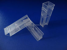 Lab disposable Plastic cuvette made of the uv-transmission plastic /reaction cuvette chemistry analy