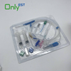 Disposable Medical hemodialysis blood tubing line with infusion set