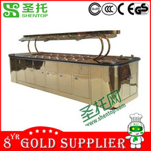 ShenTop Luxury Commercial Salad Bar STEB027/Salad Display Refrigerator/Salad Refrigerator Table