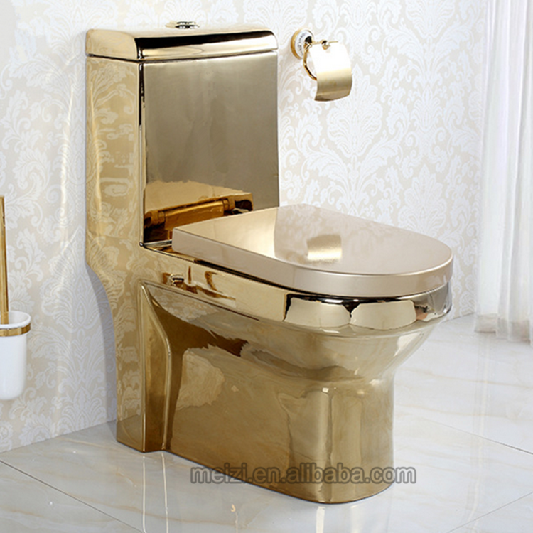 gold toilet. Luxury design one piece gold toilet bowl malaysia price  View Meizhi Product Details from Chaoan Ceramics Co Limited on Alibaba