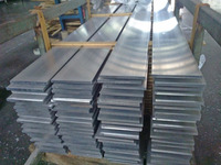 Customized high quality extruded aluminum flat bar