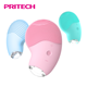 PRITECH Newest Waterproof Silicone 4 Speed Control Facial Beauty Skin Cleansing