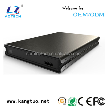 USB 3.1 Type C 2.5 inch hdd enclosure 15mm