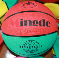 Factory hot sell rubbery basketball equipment