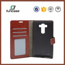 Multi-function anti-shock pu leather flip cover phone case for lenovo s650