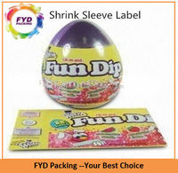 Moisture Proof PVC Shrink Film Labels Printing For Toys