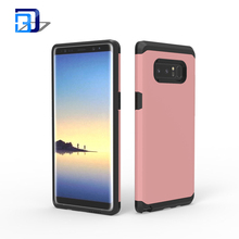 Slim Full-body Rugged Shock Absorption PC + TPU Hybrid Dual Layer Armor Phone Protective Case Cover For Samsung Galaxy Note 8
