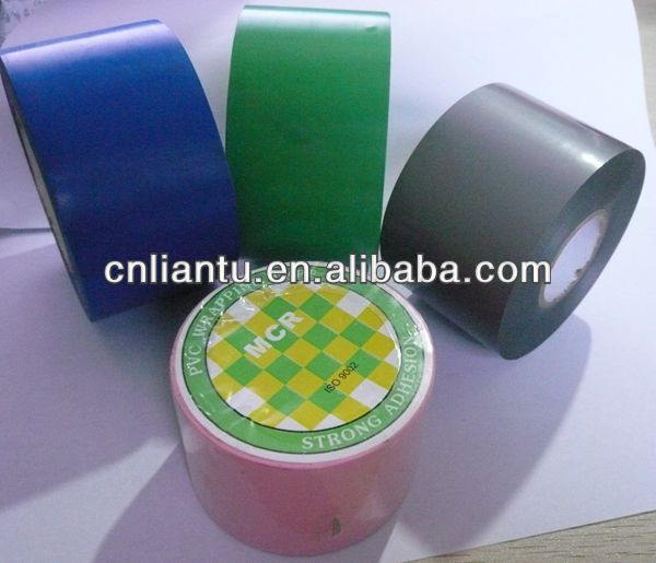 China suppliers color pvc duct wrapping tape for pipe air-condition