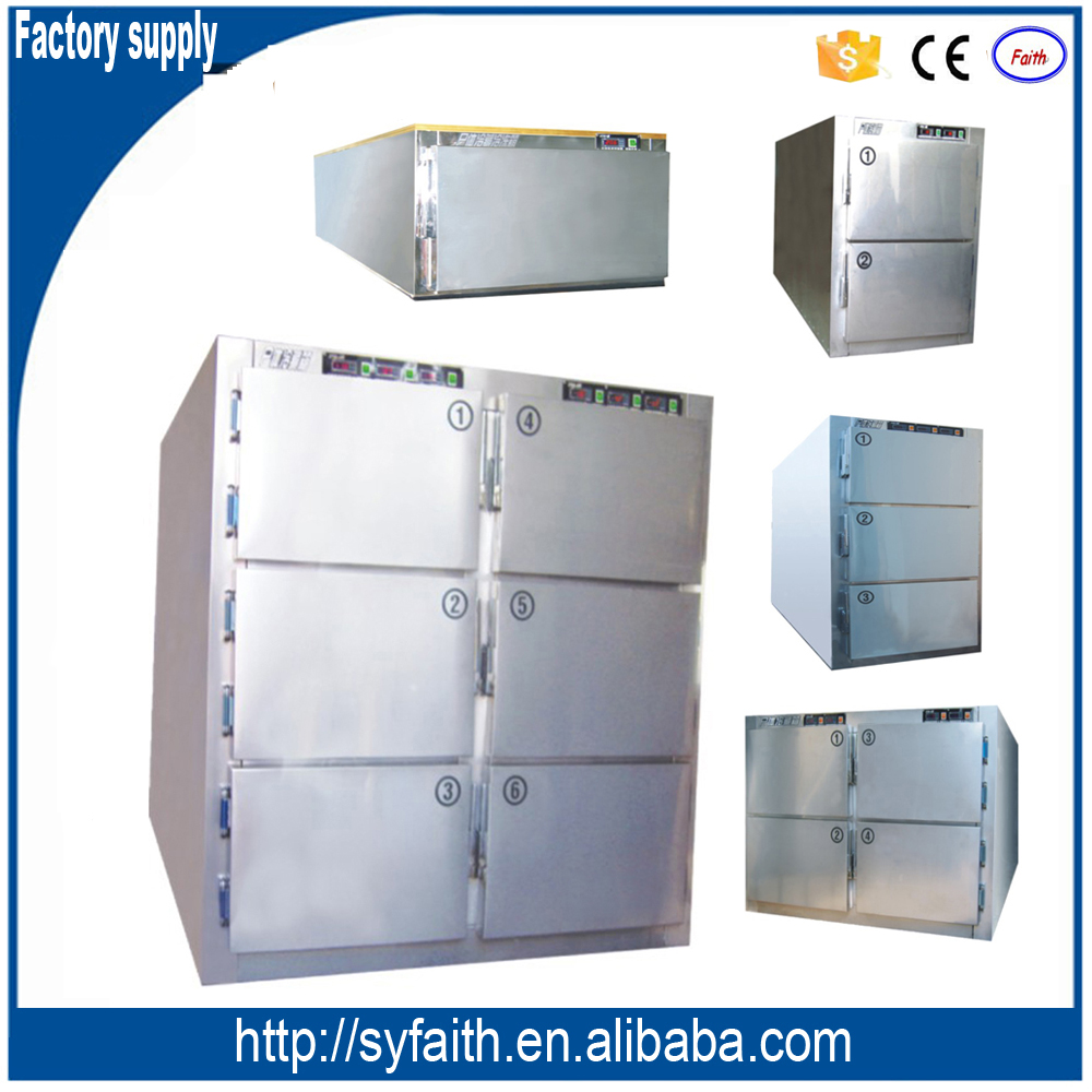 High quality Germany compressor mortuary body refrigerators for 1-6 corpses
