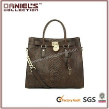 2012 wholesale fashion designer brand leather trend handbag