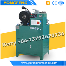 "YJK-51zN Manufacturer horizontal hydraulic hose fitting press machine 1/4"" 2"""