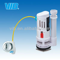 UPC toilet flush valve repair kit high quality pressure toilet flush valve wire control with dual push button