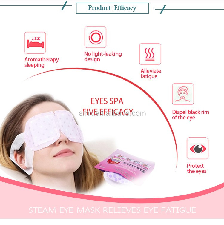 Unscent 5pcs steam warm eye mask from China