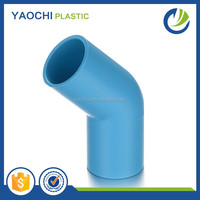 alibaba china factory direct sale thailand standard pvc pipe fitting 45 degree elbow