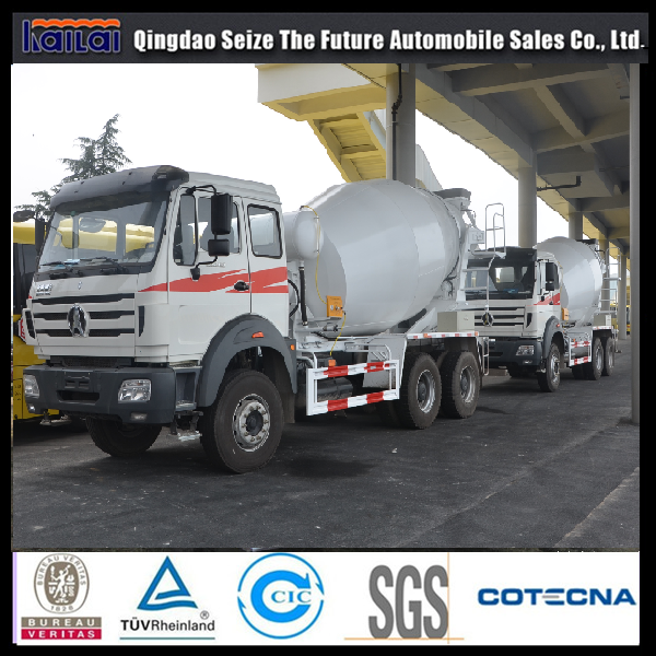 Beiben 6x4 use Mercedes Benz technology hot sale concrete mixer truck